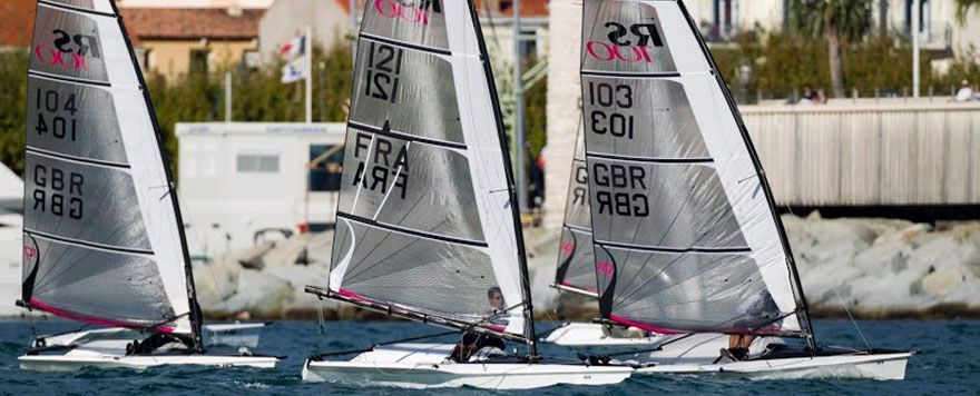 RS100 sailboat for sale