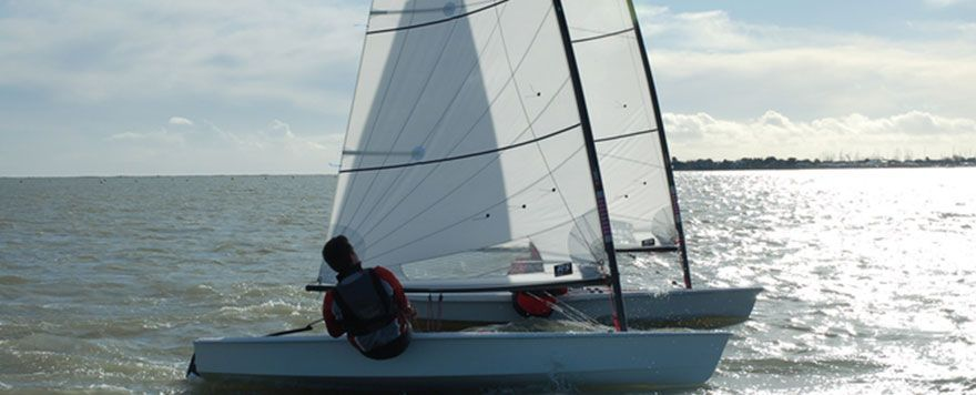 RS Aero great sail Image
