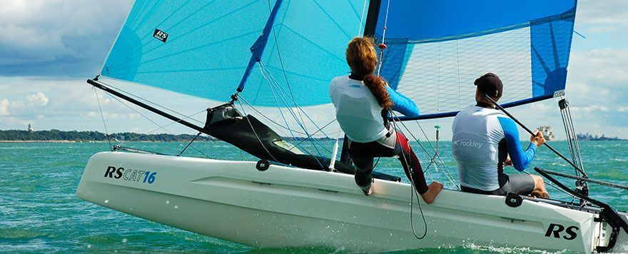 RS CAT16 sailing